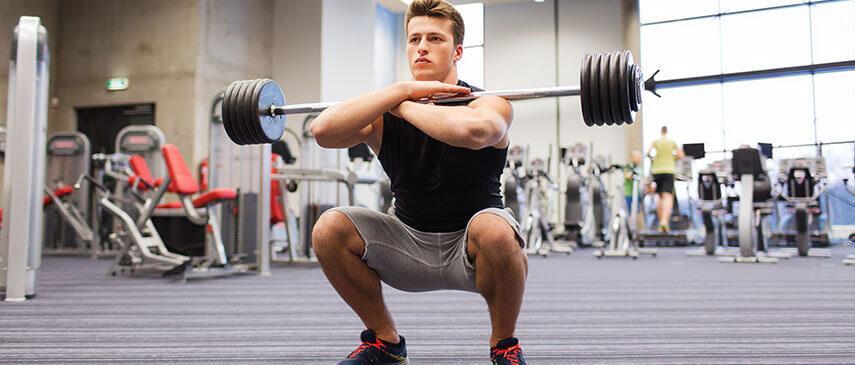 Front squat back